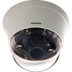 Toshiba IK-DF02A Day/Night Mini Dome, 1/3-inch SuperHAD(tm) CCD