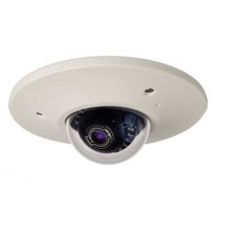 Pelco IME3122-1EI 2 Megapixel Sarix IME Series Enviornmental In-Ceiling Mount IP Mini Dome Camera, Clear, 9-22mm, Light Gray
