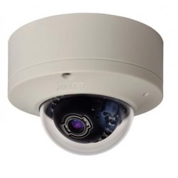Pelco IME3122-1S 3 Megapixel Surface Mount Mini Dome Camera, 9-22mm Lens, White