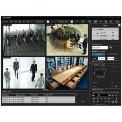 Sony IMZ-NS104U Upgrade License from RealShot Manager IMZ-RS Series to RealShot Manager Advanced IMZ-NS Series, 4 Cameras
