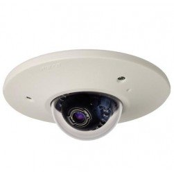 Pelco IME219-1EI 2 Megapixel Sarix IME Series Environmental In-Ceiling Mount IP Mini Dome Camera, Clear, 3-9mm Lens, Light Gray
