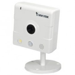 Vivotek IP8133 1MP Compact Fixed IP Camera w/Privacy Button, PoE