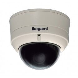 Ikegami IPD-VR11-TYPE31 Outdoor True D/N WDR IP Vandal Dome, 2.8-10mm