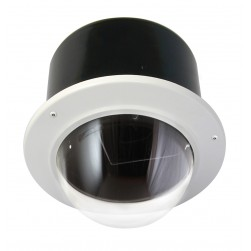 "Moog IRM7CF IP Network Ready 7"" Vandal-Resistant Indoor Recessed Dome Housing"