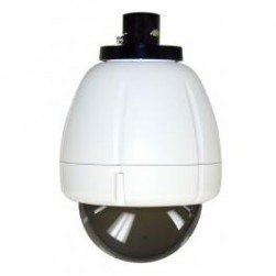 Moog IRHP75TN IP Network Ready Vandal-Resistant Indoor Dome Housing with Pendant Mount