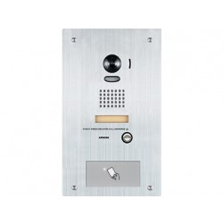 Aiphone IS-IPDVF-HID Stainless Steel Flush Mount IP Video Door Station