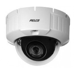Pelco IS50-DWSV8F Camclosure-2 Outdoor Rugged SD5 Day/Night Mini Dome Camera w/Smoked Bubble, Flush, NTSC
