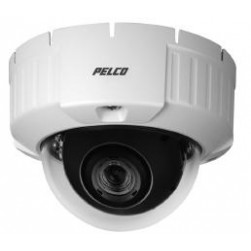 Pelco IS51-CHV10S Camclosure-2 Outdoor Rugged Mini Dome Camera with Clear Bubble, Surface, NTSC