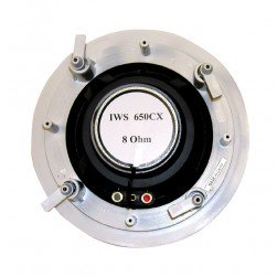 """MG Electronics IWS-650CX 6 1/2"""" Round In Wall Architectural Speaker"""