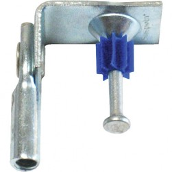 "Platinum Tools JH930-100 Angle Clip with 1/4""-20 Threaded Rod RT & Powder Actuated Nail, 100 Box"
