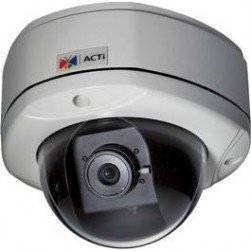 ACTi KCM-7111 4MP Full HD Outdoor Day/Night IP Vandal Dome, 2.8mm