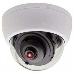 KT&C KPC-DS81NUW 750TVL Dome Camera 3.6mm, White