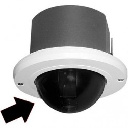 Pelco LD53HDF-1 Spectra IV / III HD Dome, In-Ceiling, Clear