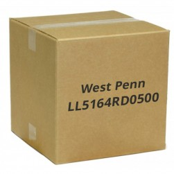 West Penn LL5164RD0500 4 Conductor 16 AWG Solid Unshielded Plenum, 500', Red