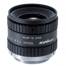 Computar M1614-MP2 2/3-inch 16mm f1.4 w/locking Iris & Focus