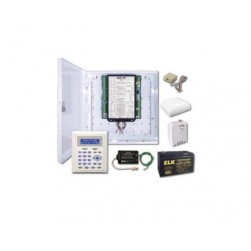 Elk M1GSYS4S M1 Gold Kit with M1KP2 LCD Keypad and Enclosure
