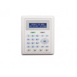 Elk M1KP2 Low-Profile LCD Keypad, 32 Characters, Flush Mount Option