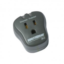 Minuteman MMS110 Single Outlet Wall Tap Surge Suppressor