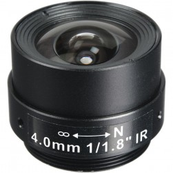 Arecont Vision MPL4-0 4mm, 1/1.8 in., f1.8, Monofocal Lens