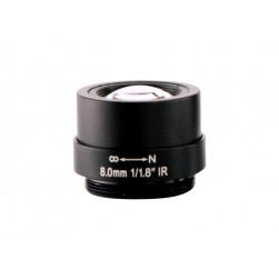 Arecont Vision MPL8-0 8mm, 1/8 in., f/1.8, Monofocal Lens