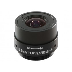 Arecont Vision MPL3-5 3.5mm, 1/2.5 in., f1.8, Monofocal Lens