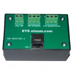 ETS MSI-BOC5 CAT5 Breakout Box for Separate Microphones and Speakers