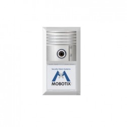 Mobotix MX-INFO1-EXT-SV Info Module Silver-Colored