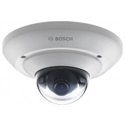 Bosch NUC-51022-F4 2.1 Megapixel Outdoor Day/Night Network Vandal Dome Camera, 3.6mm Lens