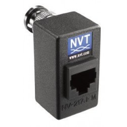 NVT NV-217J-M Single Channel Passive Transceiver, RJ45