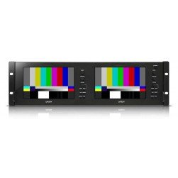 Orion OIC-7002 Broadcast Rack Mount Monitor (7-inch x 2)
