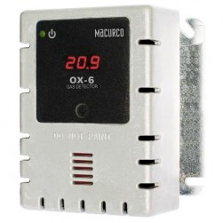 Macurco OX-6-W Oxygen (O2) Fixed Gas Detector