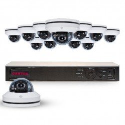 Cantek Plus PT12Mini PTZ4TB Powerful 12 Channel PTZ HD Security System