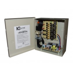 ICRealtime PWR-8DC-4A 8 Output 4-Amp Power Supply, 12VDC
