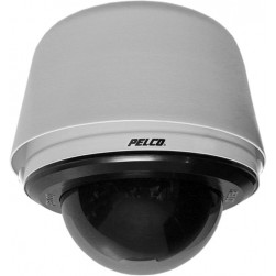 Pelco S6230-EG1 2 Megapixel Spectra Enhanced HD Environmental Pendant IP Network High-Speed PTZ Clear Lower Dome, 30X Lens, Gray