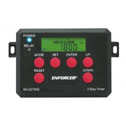 Seco-Larm SA-027WQ Programmable 7- Day Timer with Housing