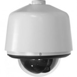 Pelco SD429-PSGE1 Environmental Pendant Dome Camera System with Clear Bubble (Light Gray, NTSC)