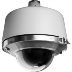 Pelco SD436-PRE0 Environmental Pendant Pressurized Smoked Dome Camera, 36X
