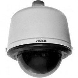 Pelco SD429-PG-0 Spectra Smoked Pendant Dome Camera, 29x (Light Gray, NTSC)