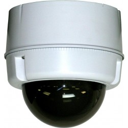 Moog SM5T8NE Compact Outdoor Surface Mount Dome for POE Plus Enabled IP PTZ Cameras