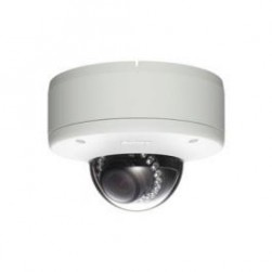 Sony SNC-DH180 Network 720p HD / 1.3 Megapixel Vandal Resistant Minidome Camera with View-DR Technology, IR Illuminator, JPEG/MPEG-4/H.264 Day/Night
