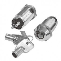 Seco-Larm SS-090-2H5 High-Security Tubular Key Lock