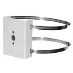 Pelco SWM-PA-GY Pole adapter with Stainless Steel Hardware, Gray Finish