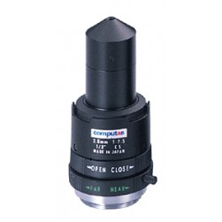 Computar T2625CS-P 1/3-inch 2.6mm f2.5 Pinhole, Manual Iris
