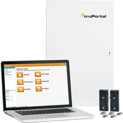 Interlogix TP-SYS-2D TruPortal 2-Door Base Kit