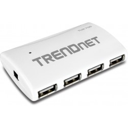 TRENDnet TU2-700 High Speed USB 2.0 7-Port Hub w/ Power Adapter