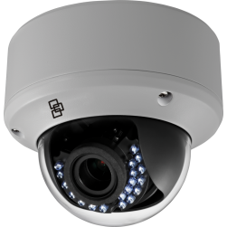 Interlogix TVD-2202 TruVision 720TVL 2.8-12mm VF Lens Dome Camera