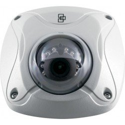 Interlogix TVW-3101 TruVision 1.3 Megapixel Outdoor IR Wedge Dome Camera, 2.8mm Lens, NTSC
