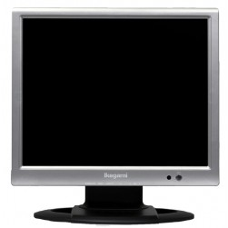 Ikegami ULM-153 15-inch High Resolution Security Surveillance LCD Monitor