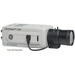GE Security UVC-EVRDN-HR UltraView EVR Series True Day/Night Box Camera, 540 TVL, UTP, BNC, 12vdc/24vac