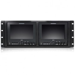 Orion VF703G-RMK2 Dual 7in LED Field Monitors with Rack Mount